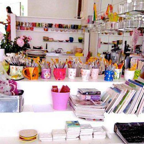 C.RAMIC Art Café Bruxelles - Atelier de peinture sur céramique